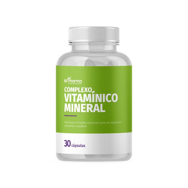 complexo-vitaminico-mineral-30-caps-bs-pharma